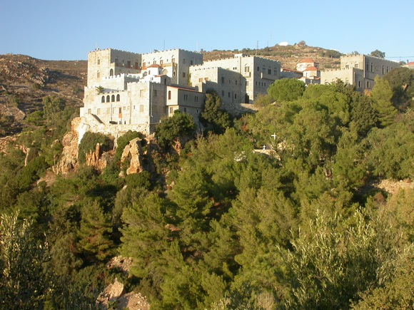 I Love Hellas: Monastery in Patmos