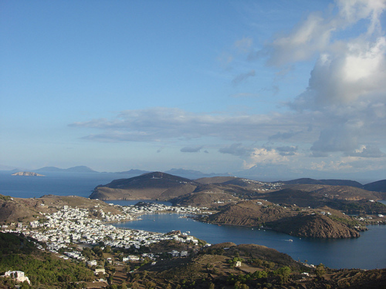 skala patmos greece