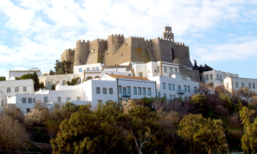 Patmos Island:: Monasteries :: THE MONASTERY OF ST JOHNss